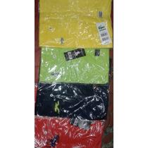 Kit C/10 Camisas Masculina Gola V, Varias Marcas