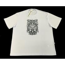 Camiseta Masculina 100% Algodão - Tamanhos P M G G1 G2 G3 G4