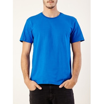 Camiseta Lisa Cores Tecido Dry Fit 100% Poliester