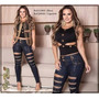 Blusa Pit Bull Jeans Com Bojo - Nova Coleção