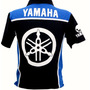 Camiseta Masculina Gola Polo Esportiva Moto Yamaha