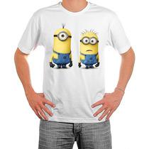 Camiseta Minions Malvado Favorito - Bebê Infantil Adulto