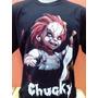 Camiseta - Vilões Do Terror (chucky - Brinquedo Assassino)