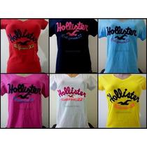 Kit Com 10 Blusas Feminina - Hollister-abercrombie-atacado