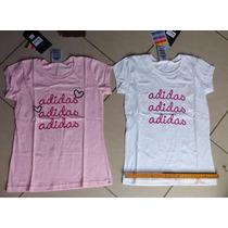 2 Camisas Feminina Adidas P Comprada Nos Estados Unidos