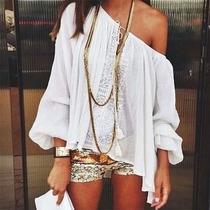 Bata Blusa Branca Com Detalhe Em Renda Importada