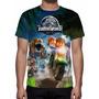 Camisa, Camiseta Game Lego Jurassic World - Estampa Total
