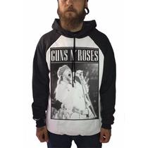 Casaco Blusa De Frio Moletom Hard Rock Axl Guns N Roses