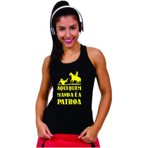 Roupas Para Academia Feminina Camiseta Regata Cavada Nadador