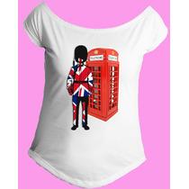 Camiseta Feminina G. Canoa Inglaterra Reino Unido Londres 07