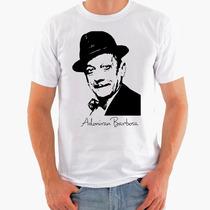 Camiseta Rock - Adoniran Barbosa, Cartola, Samba, Violão