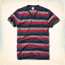 Camisetas Masculina Hollister 100% Original Pronta Entrega