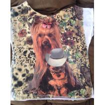 Kit 5 Camiseta Feminina Animais Cachorro Gatos Bichos Pet
