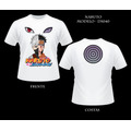 Camiseta Kakashi E Obito Naruto Anime Camisa Frente E Verso