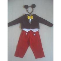 Fantasia Mickey Infantil Aniversário