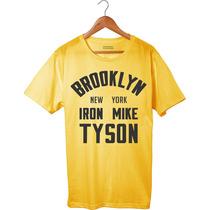 Camiseta Camisa Iron Mike Tyson - Brooklyn Super Promoção