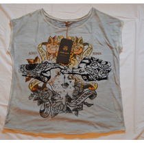 Blusa Blusinha T Shirt John John Marca Famosa Griffe