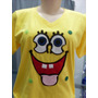 Camisetas Bordadas Desenhos Animados