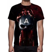 Camisa, Camiseta Filme Capitão América Guerra Civil - 2016