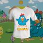 Camisa Galinha Pintadinha - Com Nome Da Criança - Jundiaí