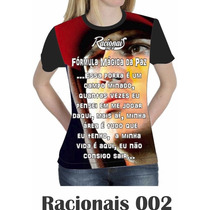 Camiseta Blusa Racionais Mcs Feminina Formula Mágic Da Paz