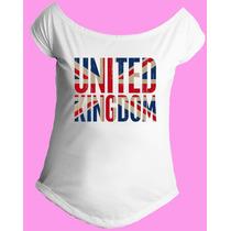 Camiseta Feminina G. Canoa Inglaterra Reino Unido Londres 12