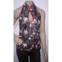 Blusa Feminina Oriental Estampada Planet Girls