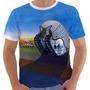 Camiseta Baby Look Emerson Lake And Palmer Tarkus Color Elp