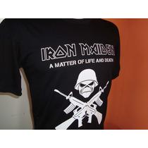 Camisas Rock - Iron Maiden - Frete Barato! - Algodão Fio 30