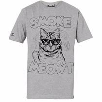 Camiseta Estampa Gato / Cat Swag Masculina Feminina