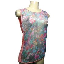 Blusa Camisa Feminina Estampa Floral Novidade 2015