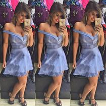 Vestido Sal E Pimenta Princess Com Bojo - Lançamento Vt014