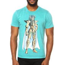 Camiseta Cavaleiros Do Zodíaco Ellus 2nd Floor - Licenciada