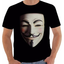 Camiseta V De Vingança - V For Vendetta