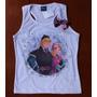 Frozen Camiseta Blusinha T-shirt Regata Princesa Anna T8