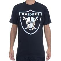 Camiseta Masculina New Era Especial Foil Raiders