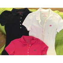 Camisetas Gola Polo Feminina Aéropostale - Originais