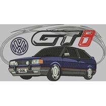 Camiseta Bordada Gol Gti Volkswagen