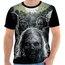 Camisa, Camiseta The Walking Dead - Serie