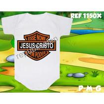 Body Infantil Jesus Cristo Tem Poder Evangélico Gospel
