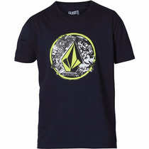 Camiseta Volcom Punk Circle - Pronta Entrega