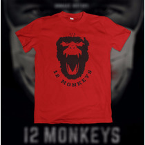 Camiseta 12 Monkeys (os 12 Macacos)