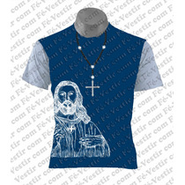 Camiseta Católica - Cristo -terço