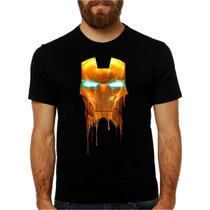 Camisa Homem De Ferro Tony Stark Pronta Entrega Personalizad
