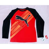 Camiseta Masc Puma Adolescente P Ou M Nova Etiqueta Original