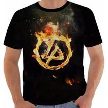 Camisa Camiseta Baby Look Regata Linkin Park