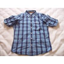 Camisa Xadrez Masculina Hollister