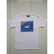 Camiseta Masculina Hollister, Coleção Nova! Original!