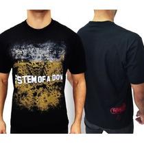 Camiseta De Banda - System Of A Down - Toxicity