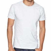 100 Camiseta Lisa 100% Poliéster P/ Sublimação Frete Gratis
